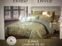 Home Decore six piece comforter set for for full size bed  San Antonio, 78211