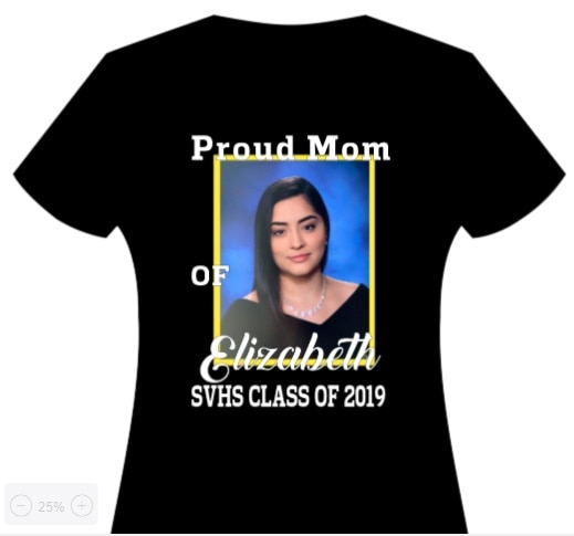Photo Custom Grad Tees- let me design One for you