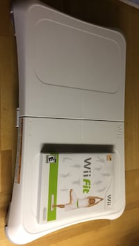 white Nintendo Wii game console & game