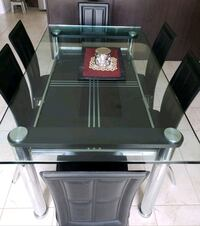 black and gray table with chairs Brampton, L6X