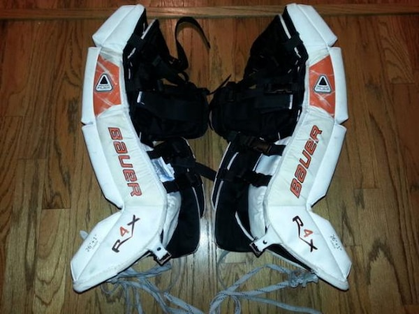 Used Ice Hockey Goalie Leg Pads For Sale In Raleigh Letgo