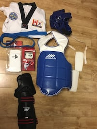 Taekwondo Sparring Gear Sets
