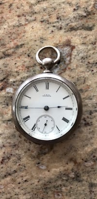 Antique  pocket watch  Walnutport, 18088