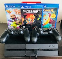 PS4 + 2 controllers + 3 games Weston, 33332