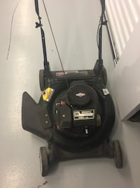 black and gray push mower Richmond, 23227