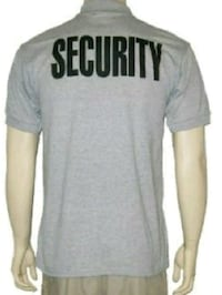 Security Polo Shirt - Brand New Grey Embroidered Toronto, M4M 1Z3