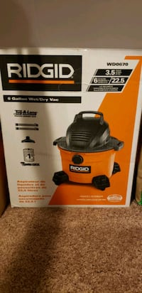 Like new 6 gallon wet/dry vac Baltimore, 21206
