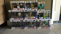 Stars wars funko pop lot Santa Rosa, 95407