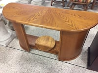 Solid wood foyer table  South Daytona, 32119