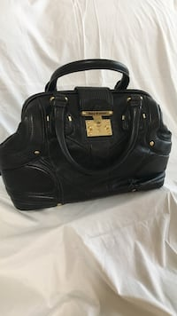 women's black leather handbag McKinney, 75071
