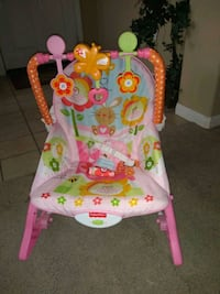 New Fisher Price Grow With Baby Vibrating Bouncer  Wildomar, 92595