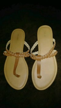 FOREVER21 WOMENS THONGS SANDALS SIZE 8 Ontario, 91764