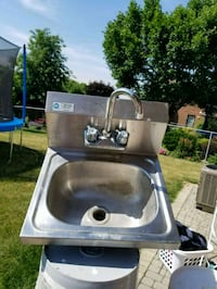 stainless steel sink with faucet Brampton, L6Z 1M1