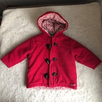 Old Navy Baby Toddler 12-18 months Hooded Toggle Button Coat Fleece Haverhill, 01832