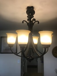 *Free Delivery* 6 light Chandelier Toronto
