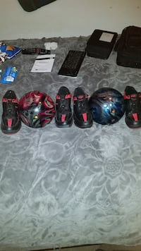 Two bowling balls and 2 sets of shoes. Goleta, 93117