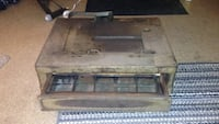 Bottom cash box for antique cash register