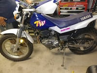 blue and white Yamaha motocross dirt bike Pueblo West, 81007