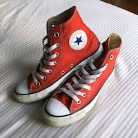 Red Converse shoes London, N5Y 4S5