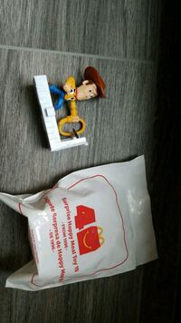 McDonald's Happy meal toy surprise 1996 toy story 4 Woody