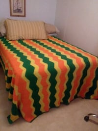 red, green, and yellow bed sheet Houma, 70364