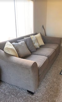 Set of TWO Light Brown Couches