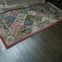 brown and red floral area rug Newmarket, L3X