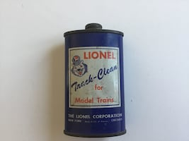 Lionel Track Cleaner Vintage Can