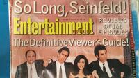 Review of 168 episodes of Seinfeld Gaithersburg, 20877