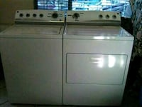 white clothes washer and dryer set Las Vegas, 89118