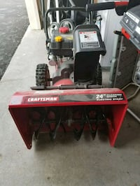 red and black Troy-Bilt snow blower New Berlin, 53151