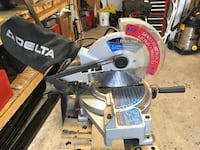 gray and blue miter saw Courtice, L1E 2Y9