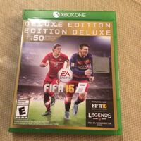 Xbox one deluxe edition fifa 16 Vaughan, L4H 0R9