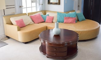 Gold couch sectional sofa