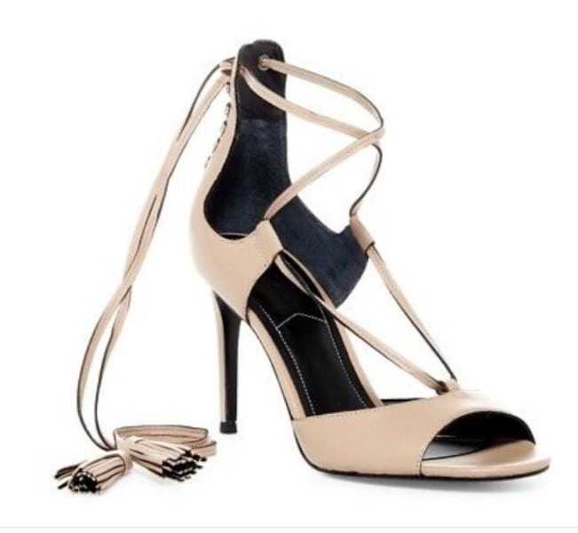 Kendall and Kylie Mira Sandal with leather tassels 2598956c-231c-406b-8b1f-18245921db02