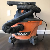 Red and black ridgid wet and dry vacuum cleaner Alexandria, 22301