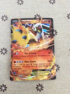 Blaziken Pokemon trading card