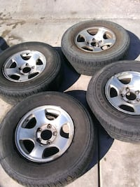 Set Tires + Aluminium Rims - Firestone Destination Las Vegas