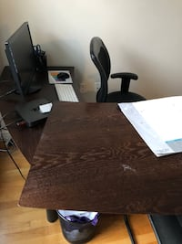 Office Desk (Solid Wood)