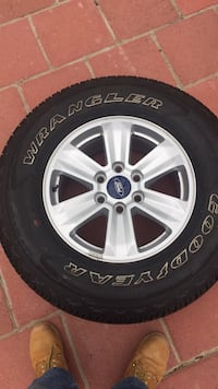 Sale 4tires and rims very good condition # 17 sake $850 or best ofert  Silver Spring, 20902