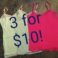 Lace Tank Tops