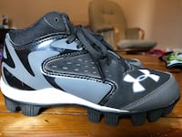 Size 1 Youth Under Armor MLB cleats
