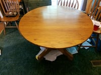 """48"""" oak dining room table Ringgold, 30736"""