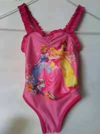 Size 24 months Disney Princess Girl Swimsuit Kenner