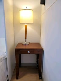 side table and lamp  Vancouver, V6A 2Z4