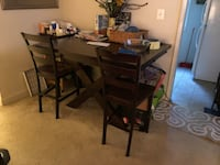brown wooden dining table set Columbia, 21046