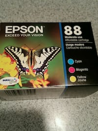 Epson set of color ink new in box never used. Clinton, 06413
