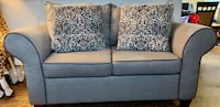 Gray couch set
