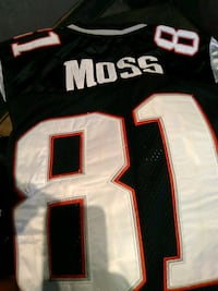 Randy Moss retired Jersey 81/Throwback Chicago, 60625