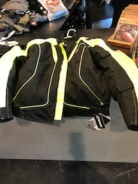 Onix textile motorcycle jacket with armour Brampton, L6T